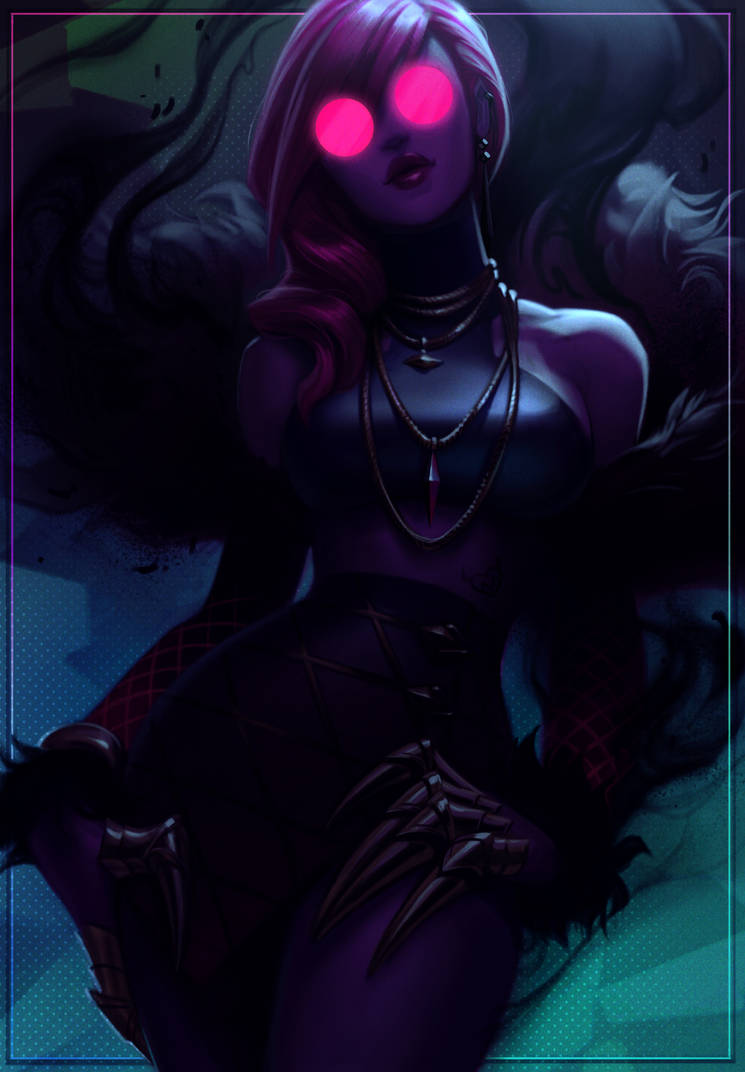 KDA Evelynn by JessiBeans