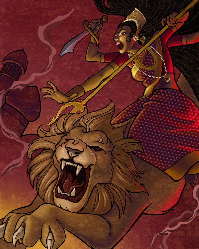 Durga By JessiBeans On DeviantArt