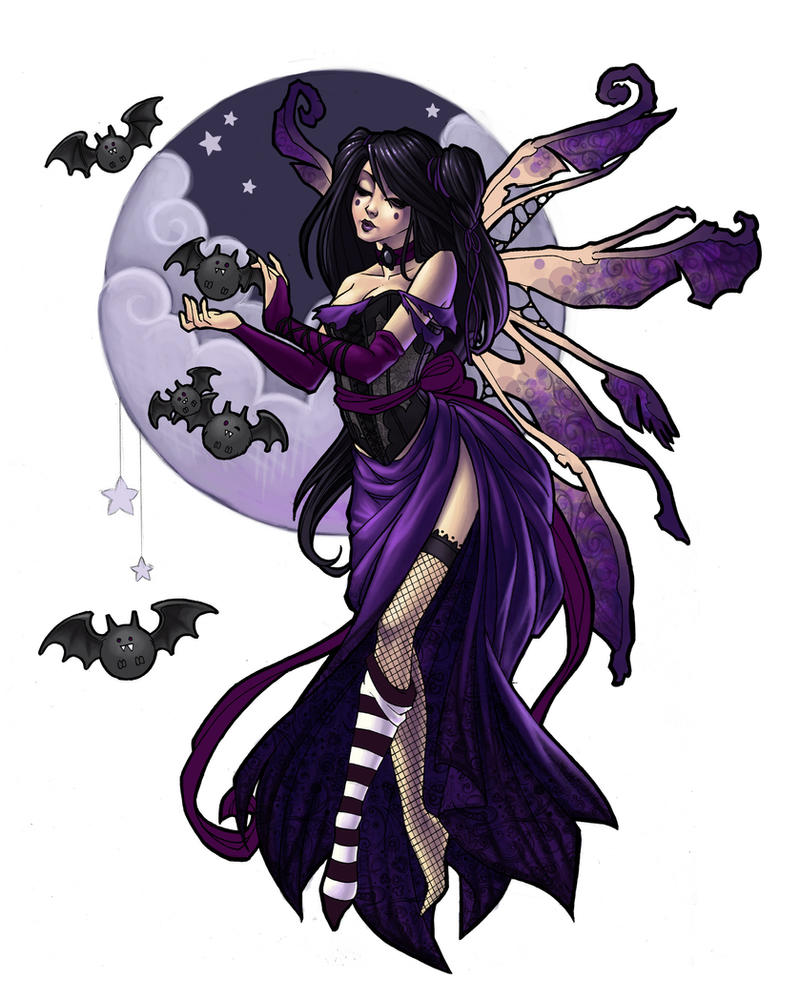 Dark Fairy by JessiBeans on DeviantArt