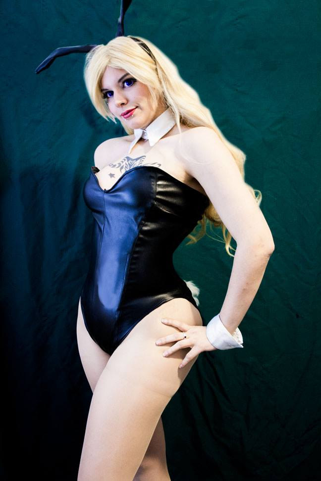 Bunny Black Canary by Magias