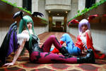 Morrigan and Lilith - 01