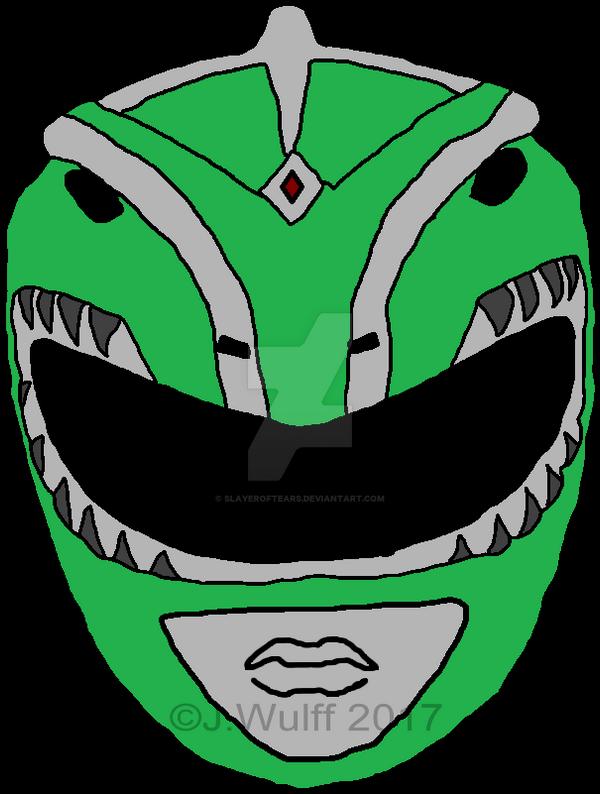 Green Dragon Ranger Helmet