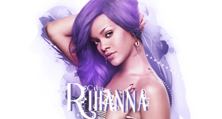 Rihanna signature with Violet colors. by CkArist on DeviantArt