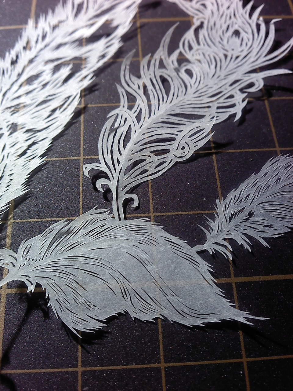 part of paper cutting works by Thessatoria