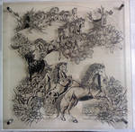 Nymphai papercutting
