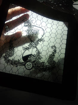 paper cutting work