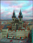 Prague Anaglyph contest by Graphica