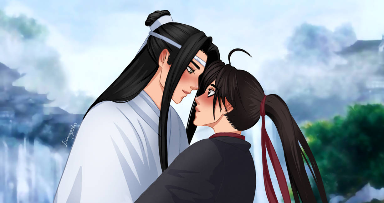 Smile for me [WWX x LWJ] by Isi-Angelwings