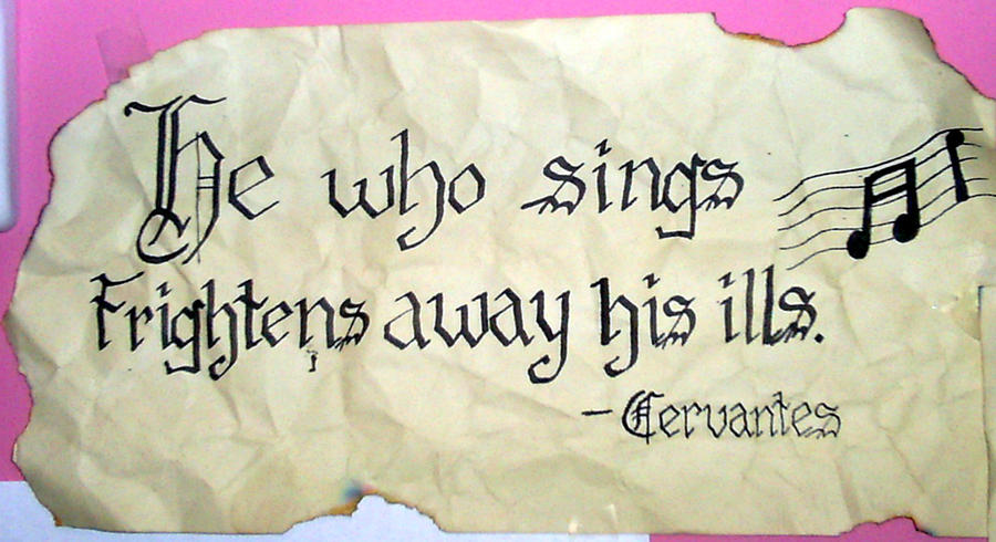 Singing quote by xLindziex Quotes About Singing