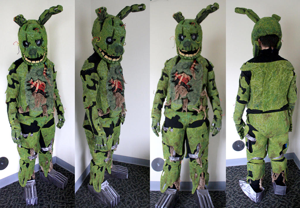 springtrap fullsuit auction signed by markiplier by raigr
