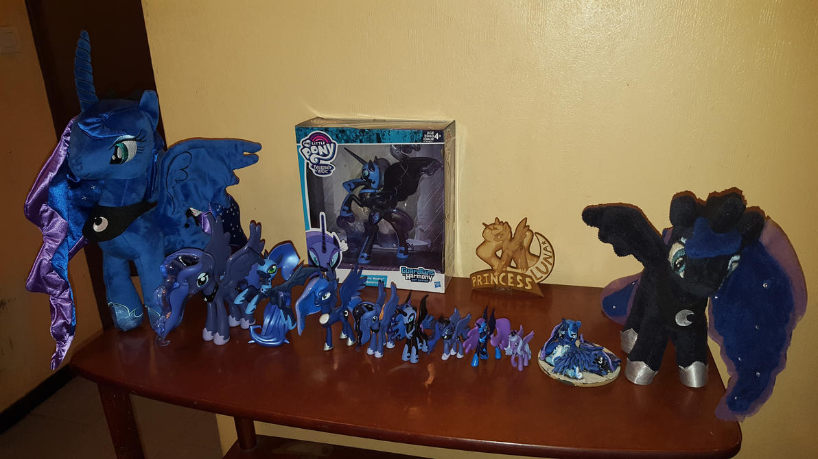 My Princess Luna and Nightmare Moon collection (1) by cedricc666