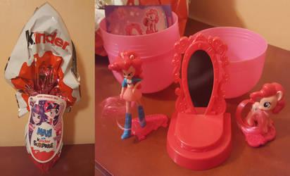 Pinkie Pie - Kinder Maxi (My Little Pony) by cedricc666