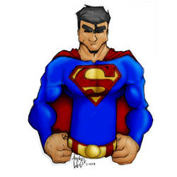 Superman by Arkangel-Wulf