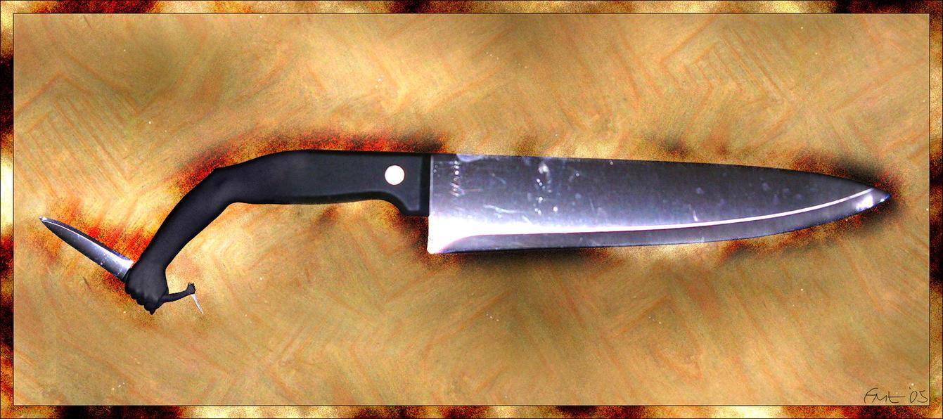 Das Messer Auf Dem Esstisch By Botskiz On DeviantArt