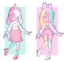 Set price adopts! (Open) by Pixilityx