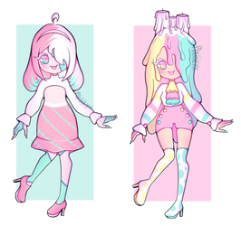 Set price adopts! (Open) price lowered