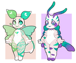 Bug Adoptables! (OPEN) 1/2 by Pixilityx