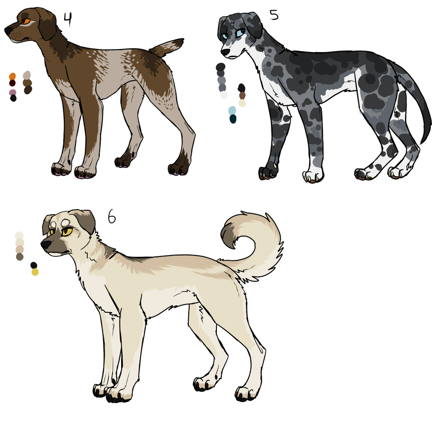 Adoptables for COR -2- CLOSED by Sparaze