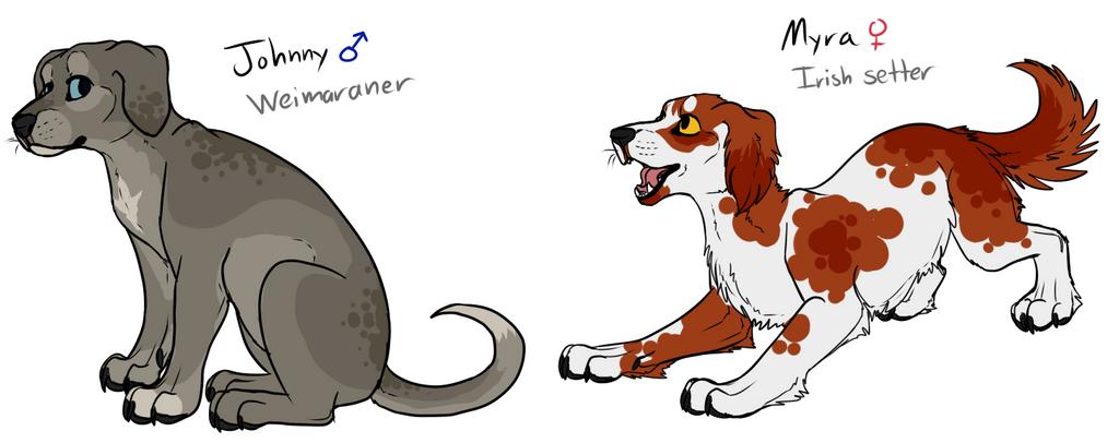 COR: Lambda NPC Pups (OPEN FOR ADOPTION) by Sparaze