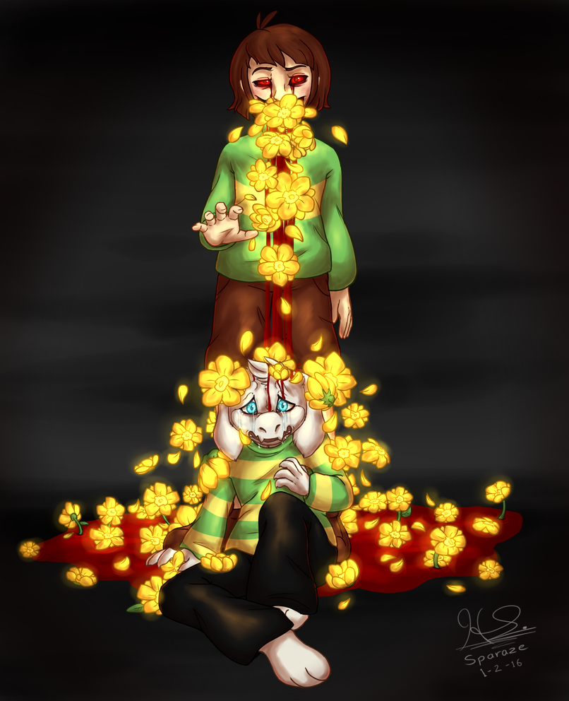 Buttercups by Sparaze