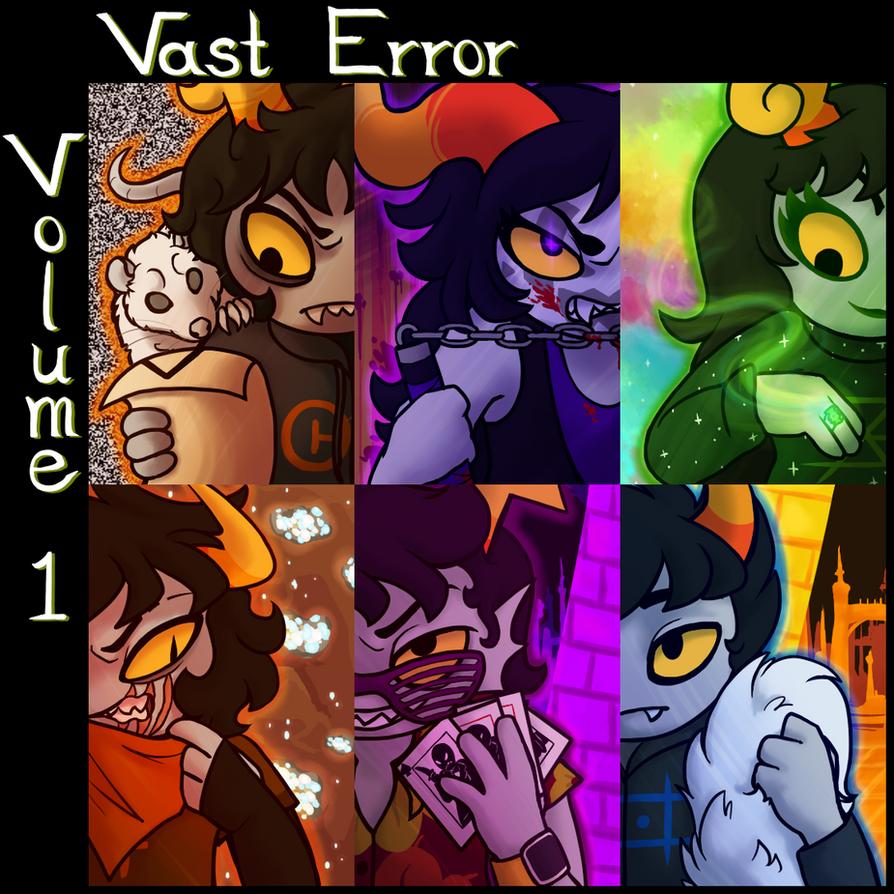Vast Error Volume 1 Cover by Sparaze