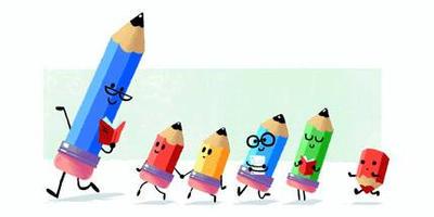 google Teacher appreciation walking pencils by shawn2002