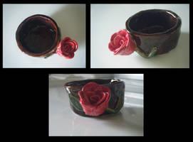 Pinch Pot Rose by JennahIsSoCoolLIKE