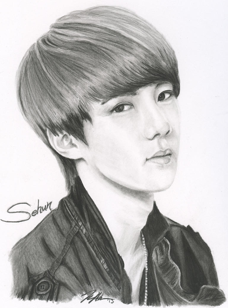 Exo Sehun .:Fan Art:. ...