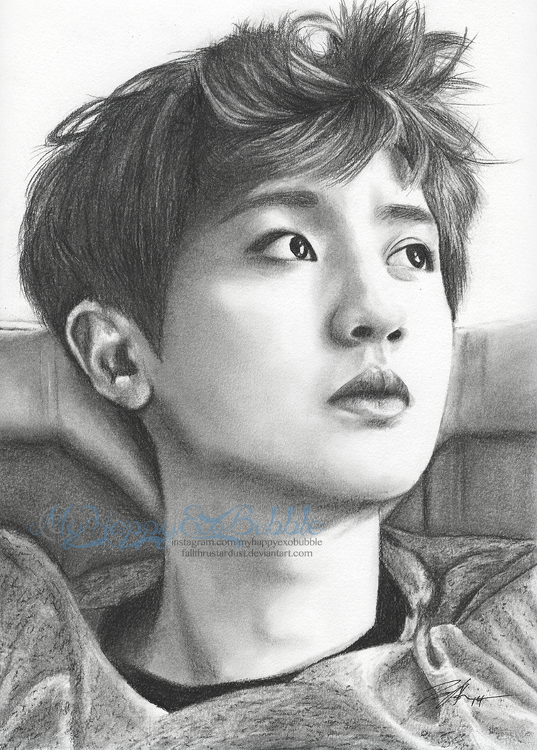 Chanyeol Die Jungs Fanart By Fallthrustardust On