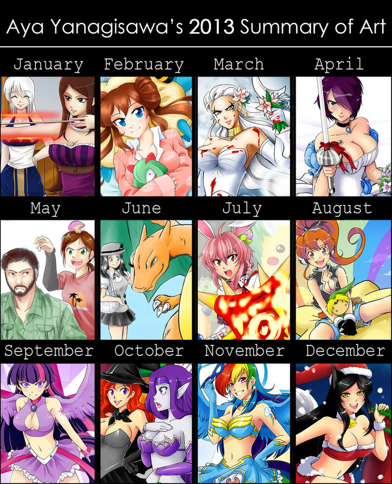 2013 Summary by AyaYanagisawa