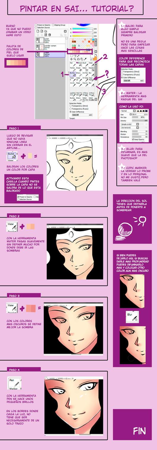 Sai tutorial basico (basic tutorial) by AyaYanagisawa
