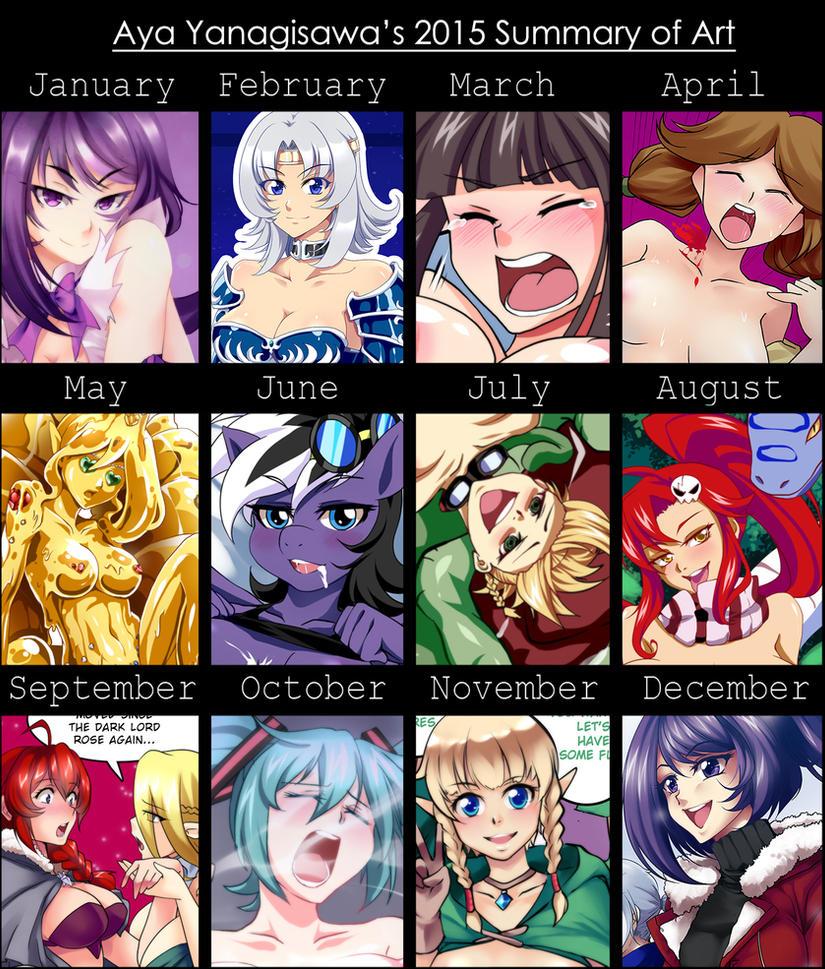 Summary 2015 by AyaYanagisawa