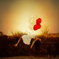 Levitation. by Rebeca-Cygnus