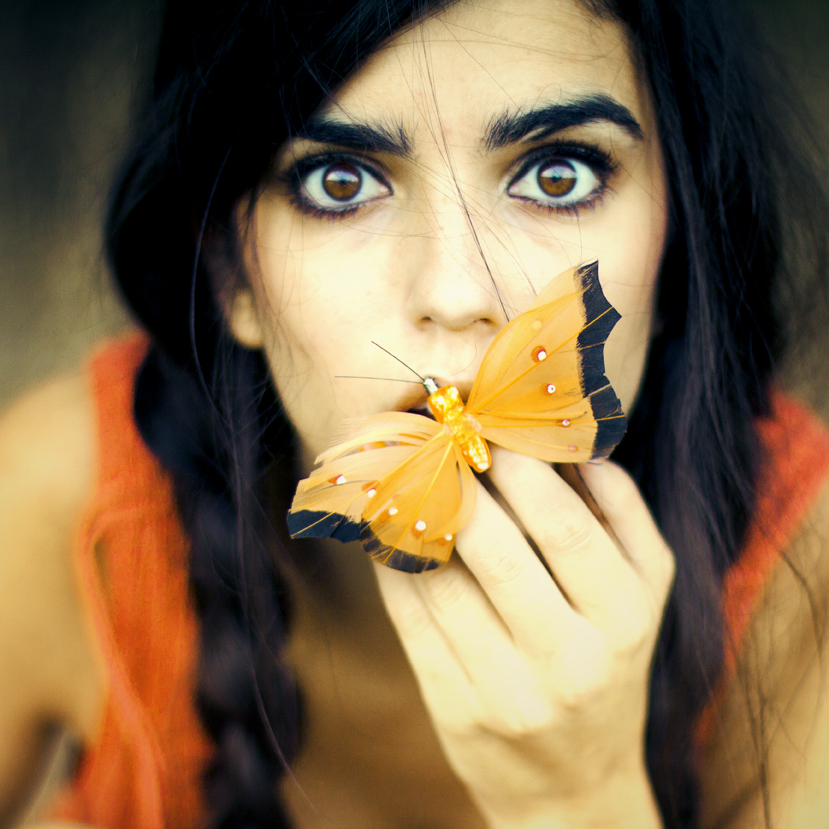 Selfportrait by Rebeca-Cygnus