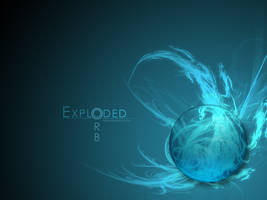Exploded Orb Wallpaper by Tosjke