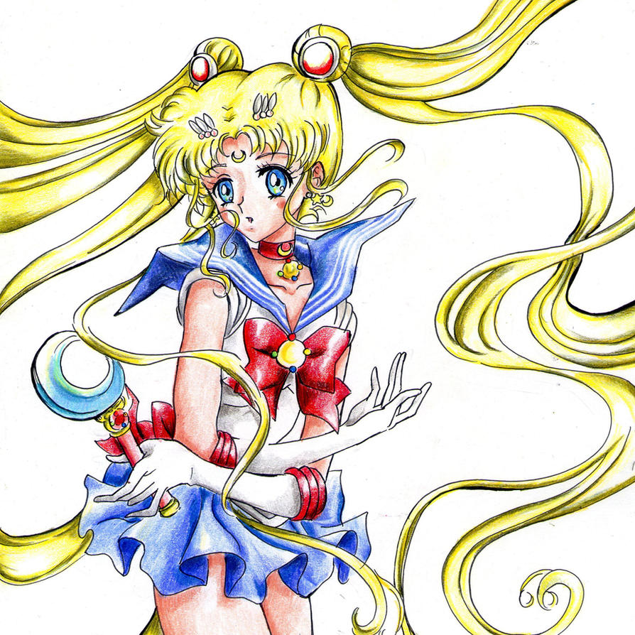 Sailor Moon by PrincessPokemon