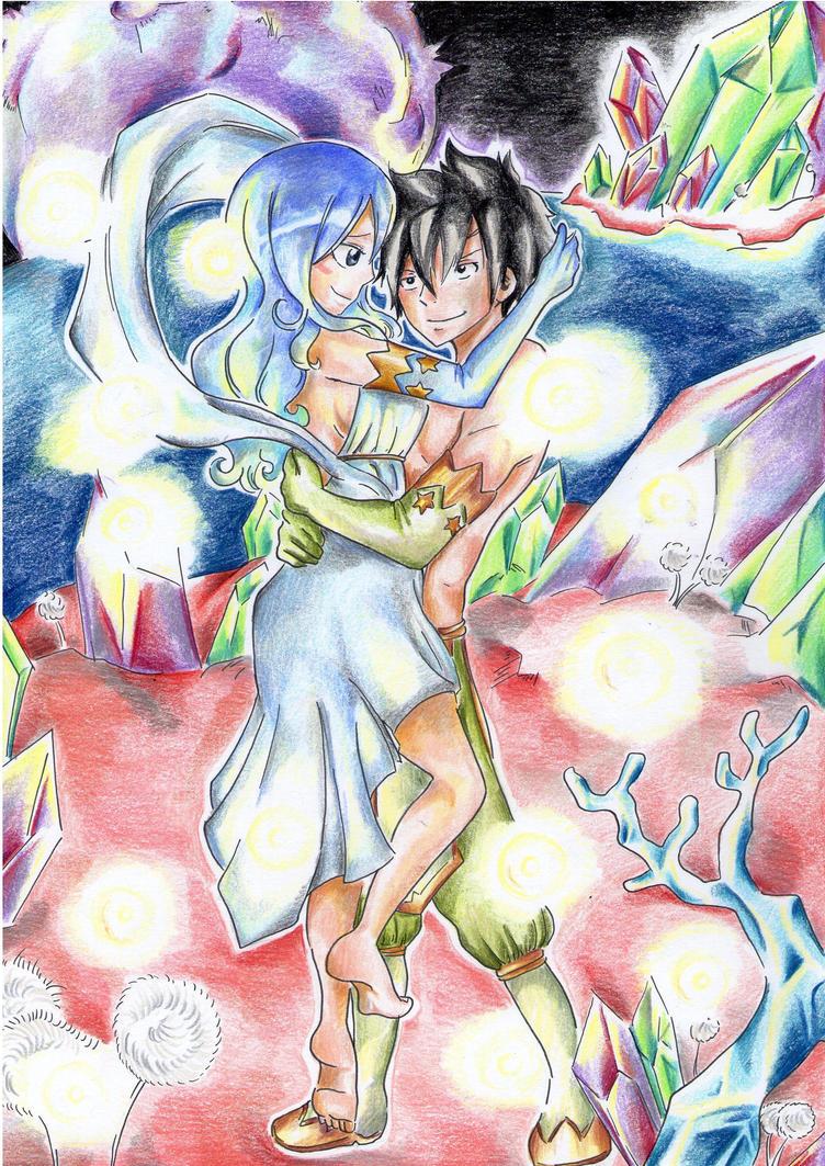 Gray and Juvia by PrincessPokemon