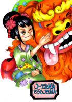 O-Tama ONE PIECE by PrincessPokemon
