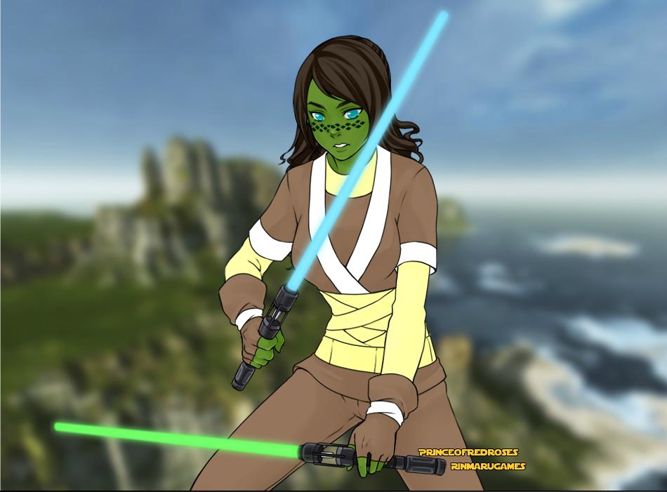 Star Wars Jedi by Furrywolf79
