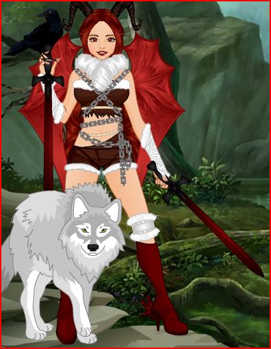 Erissa the beast tamer by Furrywolf79