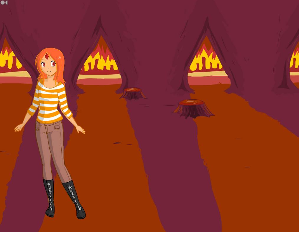 Flame princess by Furrywolf79