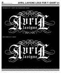 Logo for Avril Lavigne T-shirt