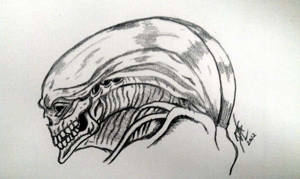 Newborn ALIEN by foxhound30 on DeviantArt