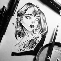 Sketchbook [24] + VID by Avvyraptor