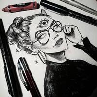 Sketchbook [25] + VID by Avvyraptor