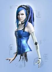 Cybernetic Blue by NeaN
