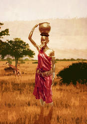 African Woman by NeaN