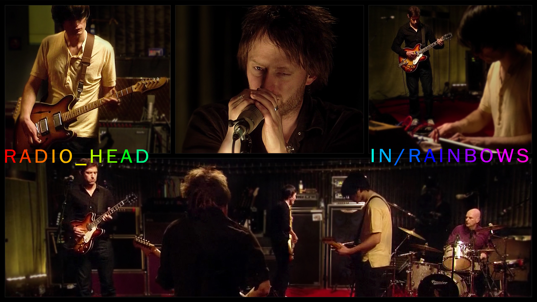 Radiohead Wallpaper In Rainbows