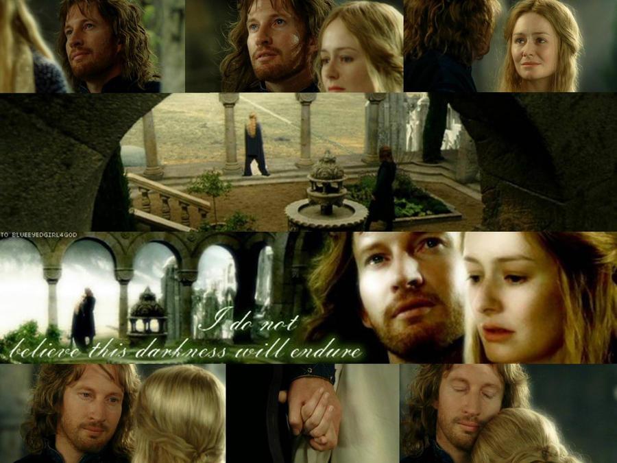 Faramir eowyn wedding