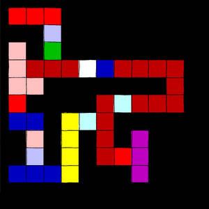 Euclid's Algorithm in Piet